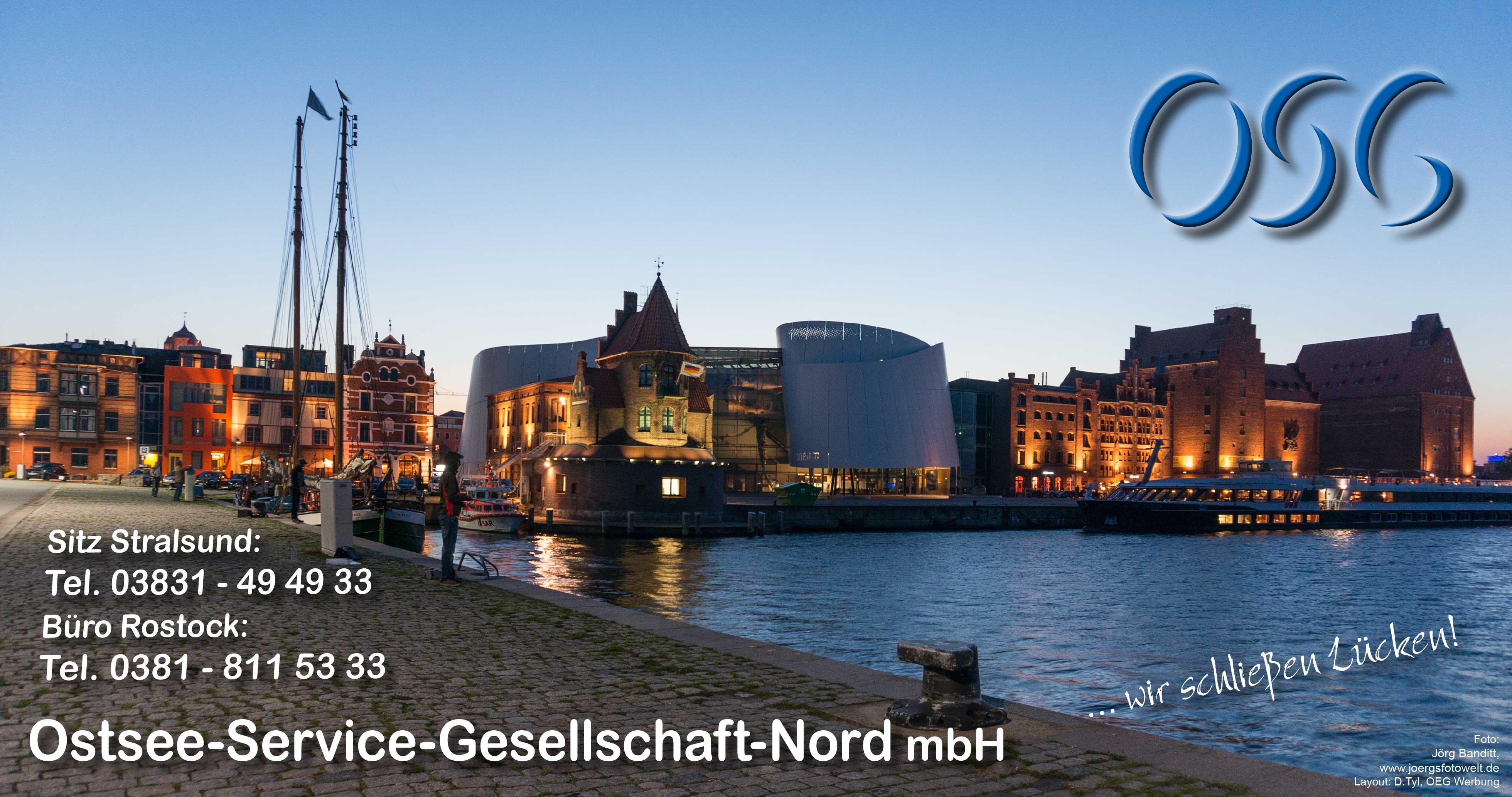 Titelfoto zum Kalender 2016 der Ostsee-Service-Gesellschaft-Nord mbH in Stralsund
